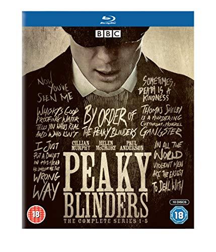 Peaky Blinders: The Complete Series 1-5 Box Set (10 Blu-Ray) [Edizione: Regno Unito] [Italia] [Blu-ray]