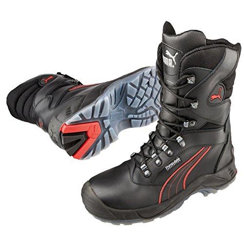 Puma Safety - Zapatos unisex, color negro/rot, talla 41