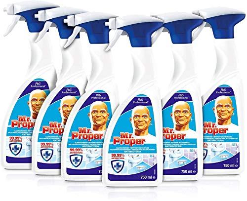 Don Limpio - Professional Limpiador y Desinfectante Multisuperficies, 6 unidades de 750 ml