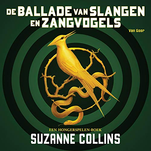 De ballade van slangen en zangvogels audiobook cover art