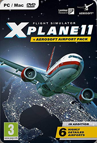 X-Plane 11 & Aerosoft Airport Collection Pc- Pc