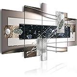 murando - Cuadro de Cristal acrílico 200x100 cm Impresión de 5 Piezas Pintura sobre Vidrio Imagen Gráfica Decoracion de Pared Decoracion de Pared Abstraccíon a-A-0273-k-p