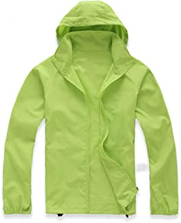Lanbaosi Women's Lightweight Jacket Uv Protect+Quick Dry Windproof Skin Coat 3X-Large Apple Green
