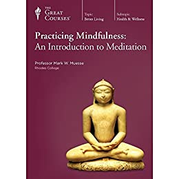 Practicing Mindfulness: An Introduction to Meditation by [The Great  Courses , Professor Mark W. Muesse Ph.D. Harvard  University, Mark W.  Muesse ]