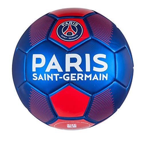 Paris St. Germain Fußball, Ball Metallic Größe 5 Rot