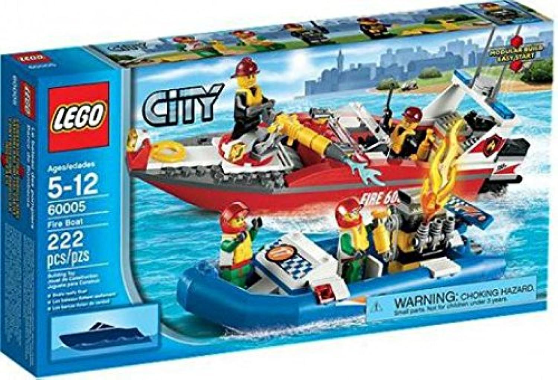 solo cómpralo LEGO City Set  60005 Fire Boat by LEGO LEGO LEGO  distribución global