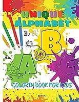 Unique Alphabet Coloring Book For Kids