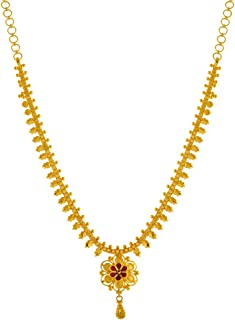 P. C. Chandra Jewellers 22KT Yellow Gold Necklace for Women