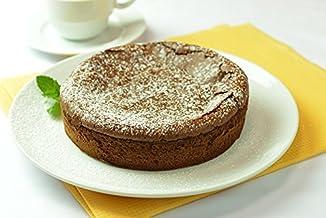 チョコケーキ ( 手作り ガトーショコラ 大ホール 直径約18㎝/約6人分) サクラメルシェ