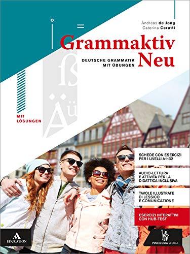 Grammaktiv neu. Per le Scuole superiori. Con e-book. Con espansione online. Con Libro: Soluzioni. Con CD-Audio