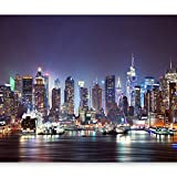 murando Fototapete New York 400x280 cm Vlies Tapeten Wandtapete XXL Moderne Wanddeko Design Wand...