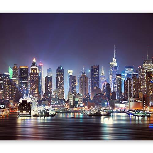 murando Papier peint intissé 200x140 cm Décoration Murale XXL Poster Tableaux Muraux Tapisserie Photo Trompe l'oeil Ville New York d-B-0034-a-b