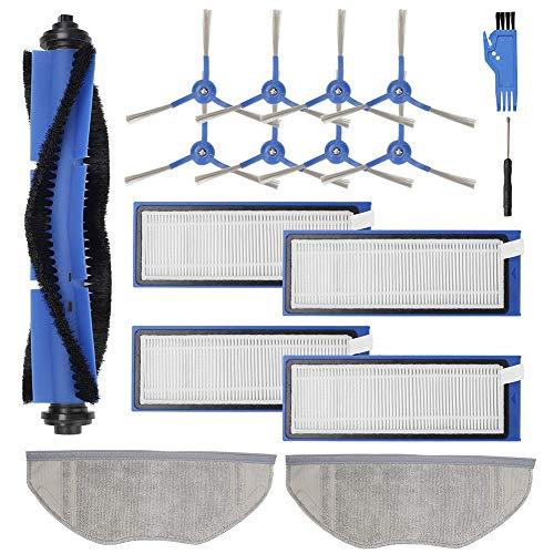 Huante Partes de aspirador Accesorios Kit de piezas de repuesto para RoboVac L70 híbrido Robot Partes de aspirador