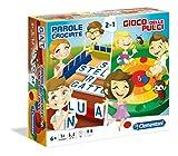 Clementoni - Parole Crociate & Il Gioco delle Pulci Giochi da Tavolo Colore Multicolore, 16067
