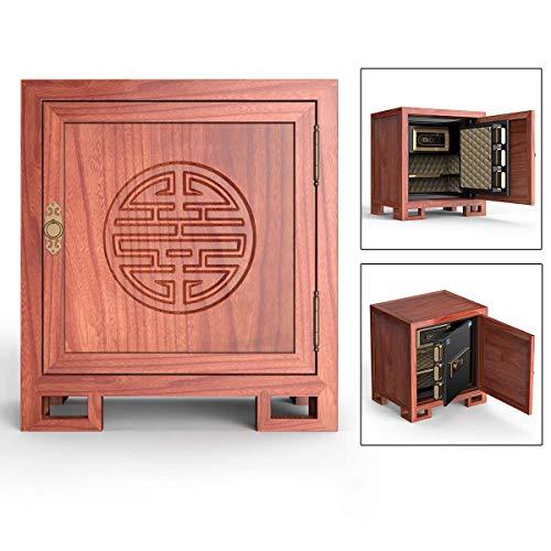 Ablea Electronic Digital Fingerprint Security Safe Box,Biometric Fingerprint Home Steel Safe,Fireproof Waterproof, LED Display,for Office Hotel Jewelry Gun Cash Medication,B