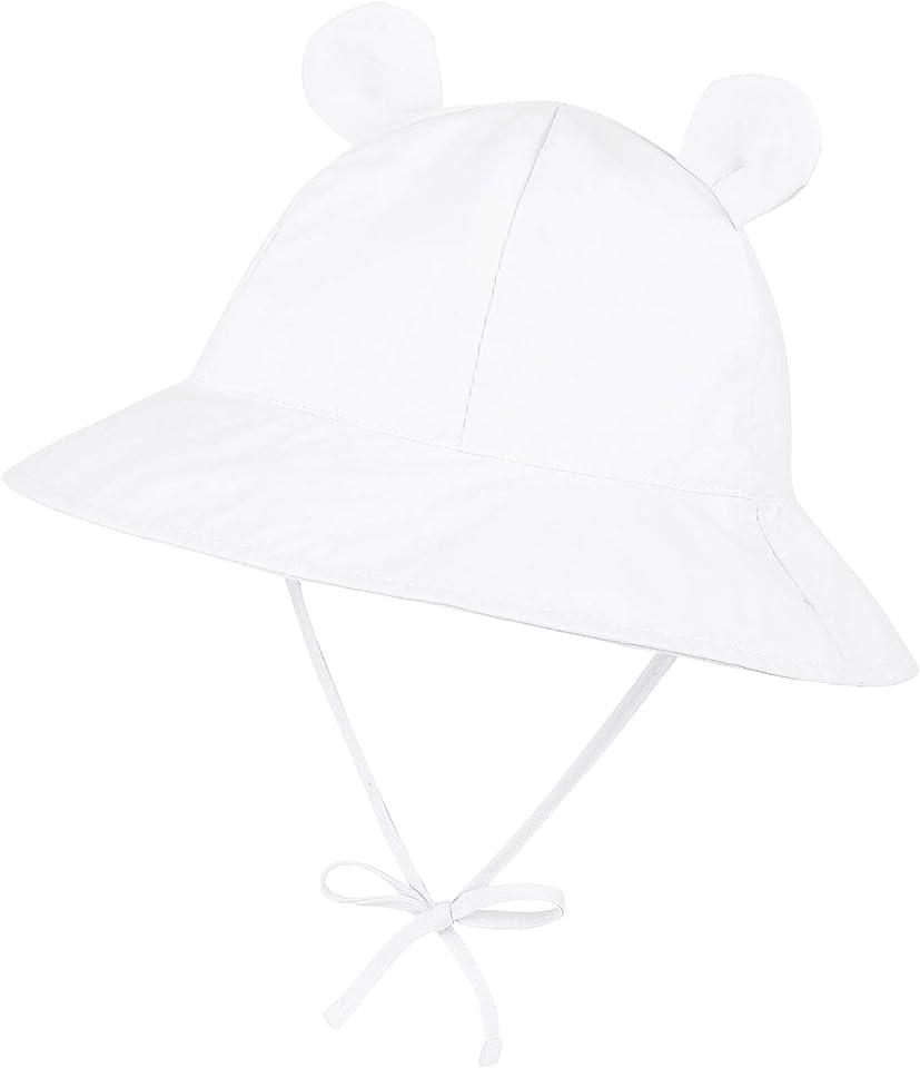 Infant Sun Hat Baby Girl Sun Hat Newborn Hats Wide Brim Toddler Sun Hats Bucket Hat