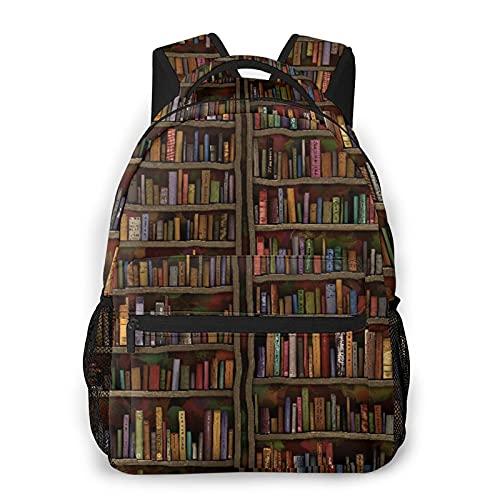 Kanxdecor Lässiger Rucksack,Hand gezeichnete Cartoon Hintergrundbilder, B,Travel Bookbag With Zipper,For Business, School, Work, Laptop Bookbag 16