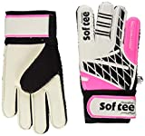 Softee- Goalkeeper 35053.775.9, 35053 - Guantes Blancos, Talla 5, Color Negro