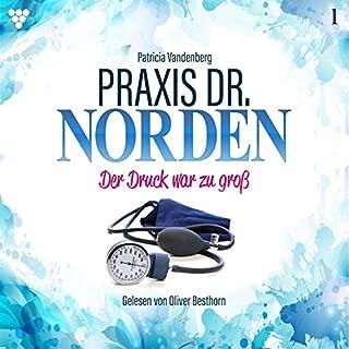Der Druck war zu groß     Praxis Dr. Norden 1              Autor:                                                                                                                                 Patricia Vandenberg                               Sprecher:                                                                                                                                 Oliver Besthorn                      Spieldauer: 2 Std. und 11 Min.     1 Bewertung     Gesamt 3,0