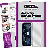 dipos I 6X Schutzfolie klar kompatibel mit Xiaomi Black Shark 2 Pro Folie Bildschirmschutzfolie (bewusst Kleiner als das Glas, da Dieses gewölbt ist)