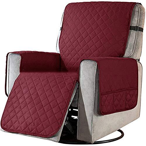 Fodere per sedie reclinabili impermeabili per poltrone, protezione per mobili con cuscino per divano con fascia elastica, protezione per divano da versamenti di animali domestici, usura e lacrime