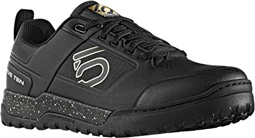 Five Ten Impact Pro - Zapatillas de Ciclismo Hombre, (Negro/Oro), UK 7.5 | EU 41.5