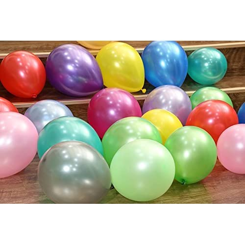 Funny Papi Party Balloons 12 Inches Rainbow Set 55 Pcs Assorted Colored Balloons Bulk Made Strong Latex Helium or Air Use 11 Colors Birthday Parties Balloon.