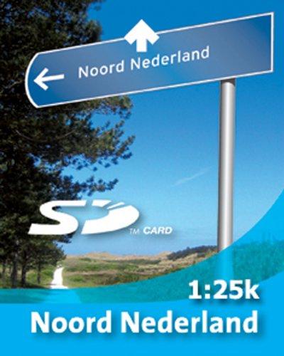 Satmap Karte 1:25000 Niederlande Norden für GPS Satellitennavigationsystem Active 10