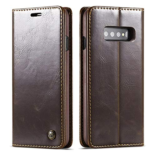 leather wallet case for s10 plus