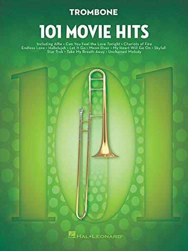 101 Movie Hits For Trombone: Noten, Sammelband für Posaune
