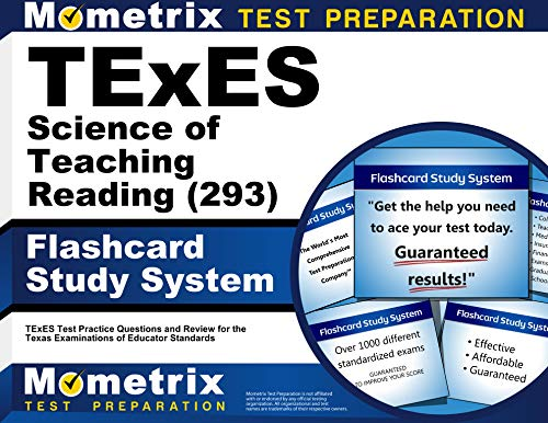 Compare Textbook Prices for TExES Science of Teaching Reading 293 Flashcard Study System: TExES Test Practice Questions and Review for the Texas Examinations of Educator Standards Cards  ISBN 9781516715114 by Mometrix