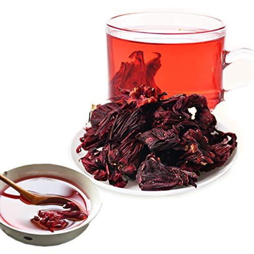 Chinesischer Kräutertee Hibiskus-Tee Roselle-Tee Neuer Dufttee Grüner Tee Gesundheitspflege Blumen Tee Hochwertiger gesunder grüner Lebensmittel-Rosen-Auberginentee (100)