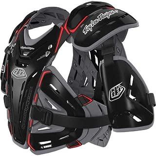 Troy Lee Designs CP 5955 Adult Roost Guard Off-Road/Dirt Bike Motorcycle Body Armor - Black/Large