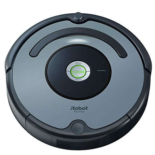 iRobot Roomba 640 Robot Vacuum – Good for Pet Hair, Carpets, Hard Floors, Self-Charging