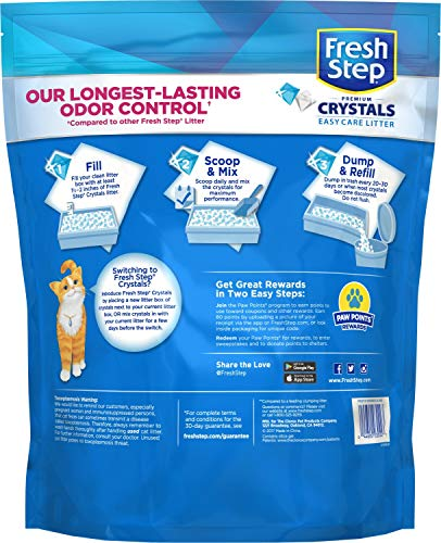 cat litter fragranced