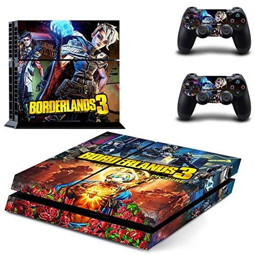 Borderlands 3 Ps4 Aufkleber Playstation 4 Skin Ps4 Aufkleber Aufkleber Abdeckung für Playstation 4 Ps4 Konsole & Controller Skins Vinyl