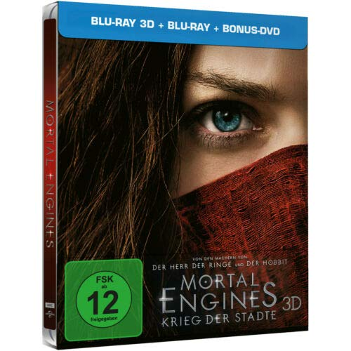 Mortal Engines Krieg der Städte Steelbook 3D + 2D Limited Edition