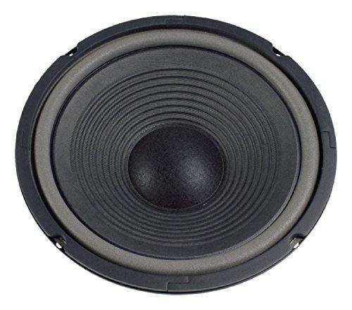 Visaton VS-W250–Lautsprecher (schwarz, Fu–6000Hz, 255x 110x 255mm, Rolle)