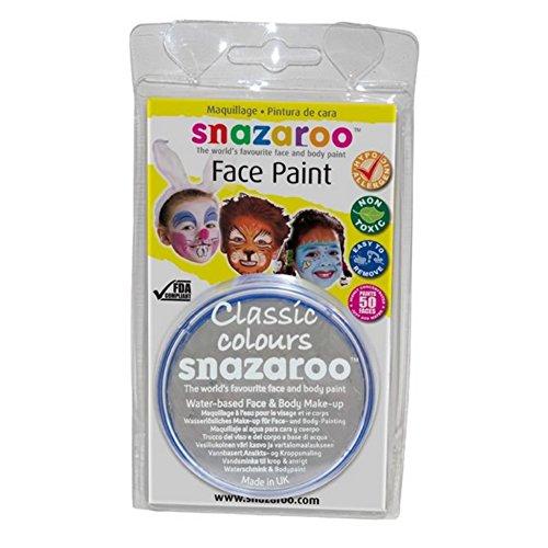 Snazaroo Peinture pour visage Individual Classic Colours 18ml Clair Gris