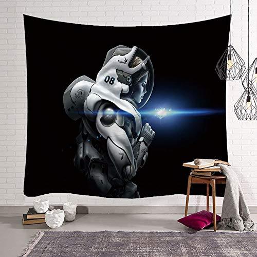 mmzki Tapiz de Astronauta de Pared de Arte de Resaca nórdica Y 200x15