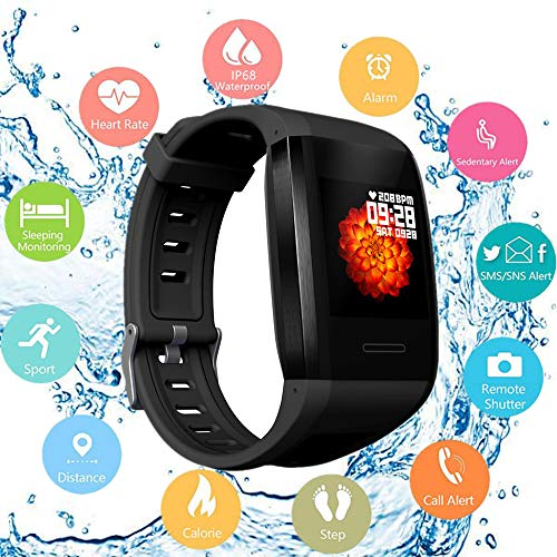 Cheapest Price! Fitness Watch with Heart Rate Monitor IP68 Waterproof Smart Pedometer,Intelligent Co...