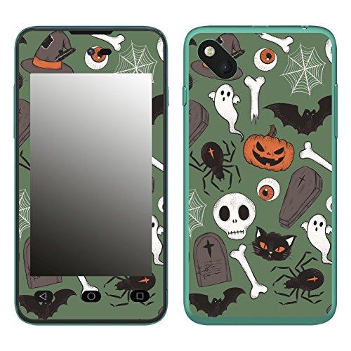 Disagu SF-106598_1211 Design Folie für Wiko Sunset 2 - Motiv Halloweenmuster 03