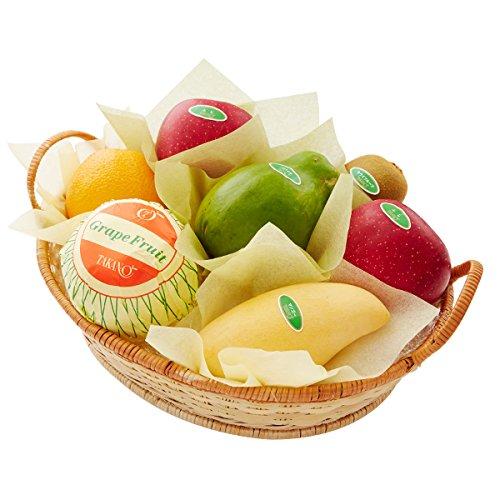 新宿高野 フルーツバラエティー #29100 [りんご/パパイヤ/マンゴー/キウイ/グレープフルーツ/オレンジ] 内祝い ご挨拶 手土産 フルーツ詰合せギフト