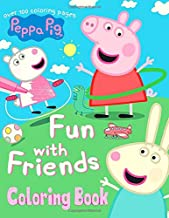 Peppa pig coloring book: More than 100 coloring pages for all Peppa pig lovers!