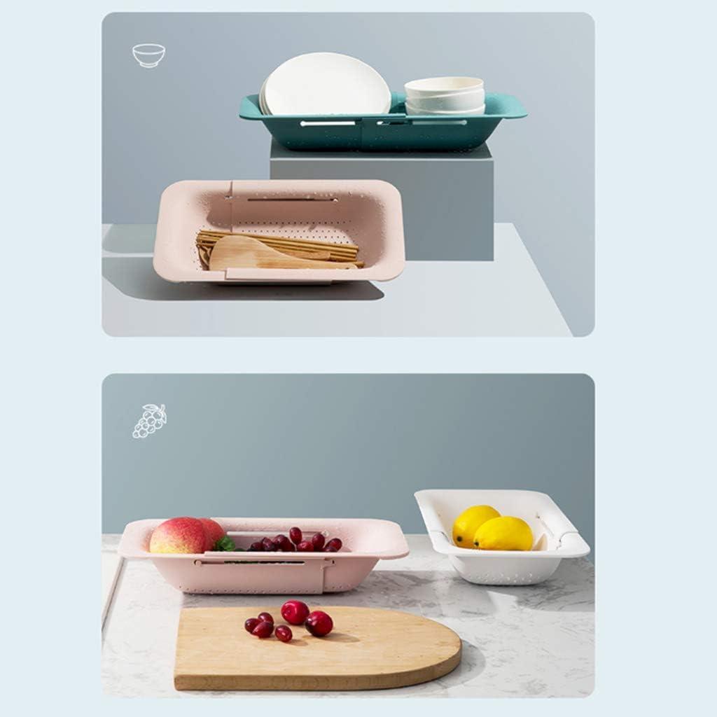 Faltbar Silikon SeiherNudelsieb Faltbar Silikon Filter Gemüse Frucht Korb Für Küche Silikon Klappbar Sieb Nudelsieb Pink
