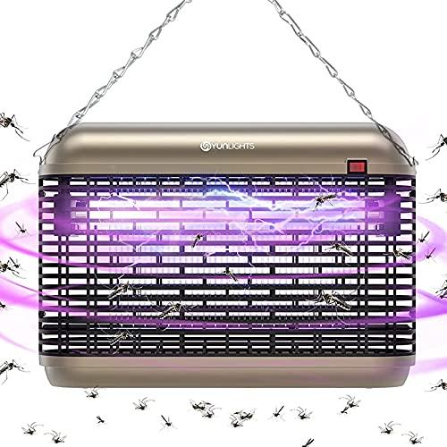 Lámpara Antimosquitos Exterior - 20W UV LED Mata...