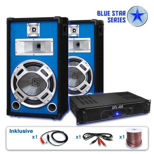 PA Set Blue Star Series Starter 1200 Watt Anlage
