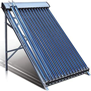 Duda Solar 25 Tube Water Heater Collector Slope Roof Frame Evacuated Vacuum Tubes SRCC Certified Hot