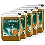 BulkHorse Huile de Lin   Qualité Premium.   ESTOMAC, INTESTINS...