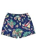 Polo Ralph Lauren Mod. 710823617 Bañador Bermuda Traveler Sail Bear Hombre Azul M